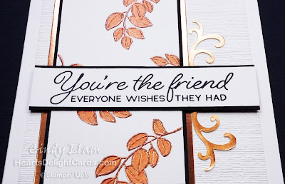 Heart's Delight Cards, Blended Seasons, Friendship, Just Because, Stampin' Up!