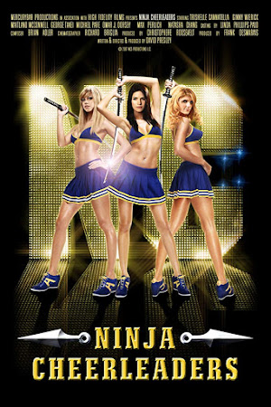 Poster Of Ninja Cheerleaders In Dual Audio Hindi English 300MB Compressed Small Size Pc Movie Free Download Only At worldfree4u.com