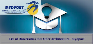 List Of 28 Universities That Offer Architecture In Nigeria