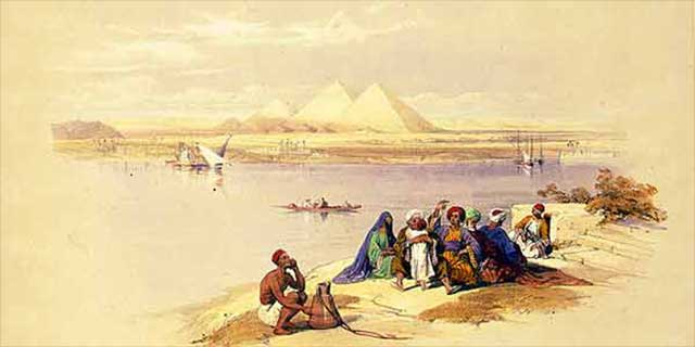 Ancient Egyptian Nile