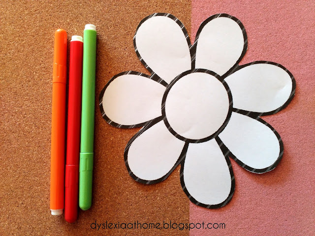 λουλούδι, λέξεις, ια, φωνημική, δυσλεξία