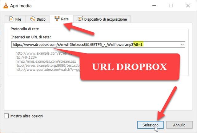 selezionare-url-file