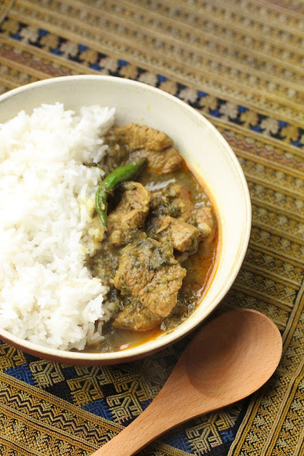 curry birman au lahpet