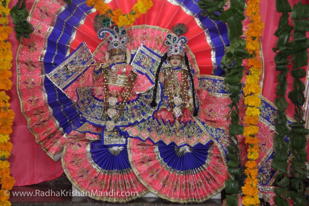 Happy Diwali 2017 Radhe Krishna Temple Delhi
