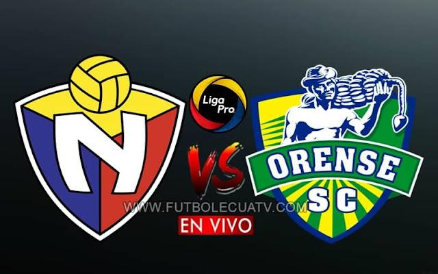 El Nacional recibe al Orense en vivo a partir de las 16h30 horario de nuestro país, por la jornada catorce del campeonato ecuatoriano, siendo emitido por GolTV Ecuador a efectuarse en el reducto Olímpico Atahualpa con arbitraje principal de Álex Cajas.
