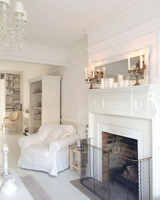 Victorian fireplace by @white_and_faded Instagram - Cool Chic Style Fashion