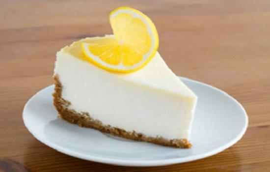 Pay de limon con queso