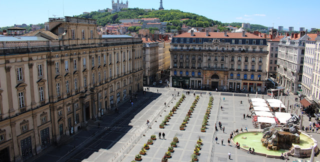Praça Place des Terreaux de Lyon