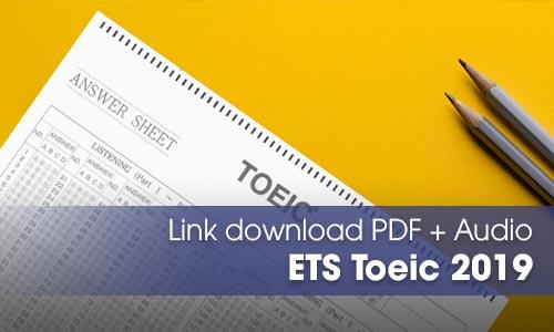 ETS Toeic 2019 cấu trúc mới