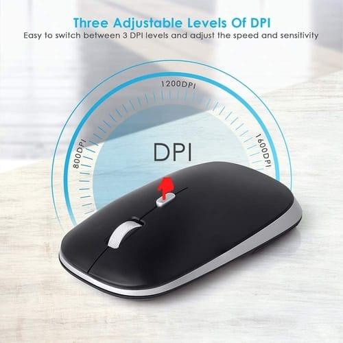 Review YIHANG 2.4G Optical Silent Ergonomic Mouse