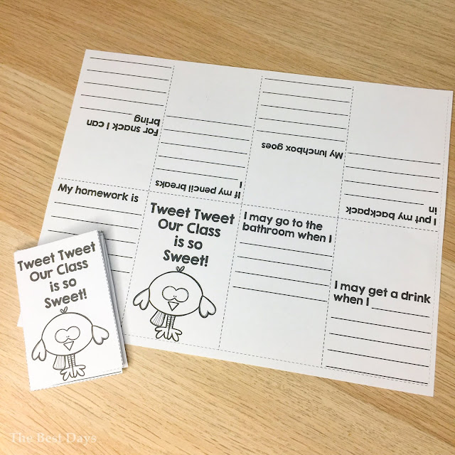 Tweet Classroom Little Book
