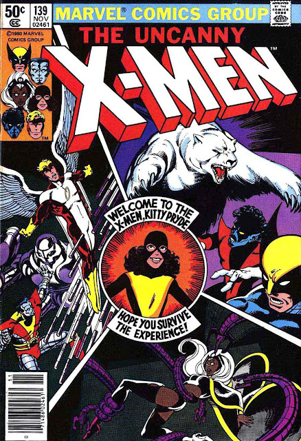 X-men v1 #139 marvel comic book cover art by John Byrne