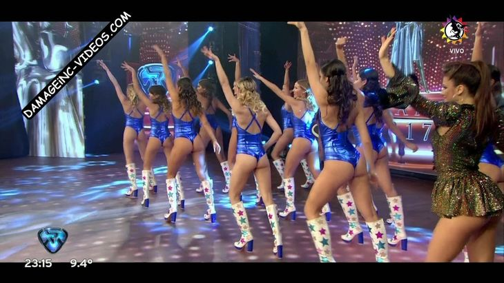 The hot dancers from Showmatch 2017 Damageinc Videos HD