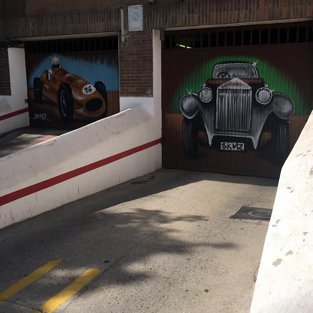 Puerta de garaje doble