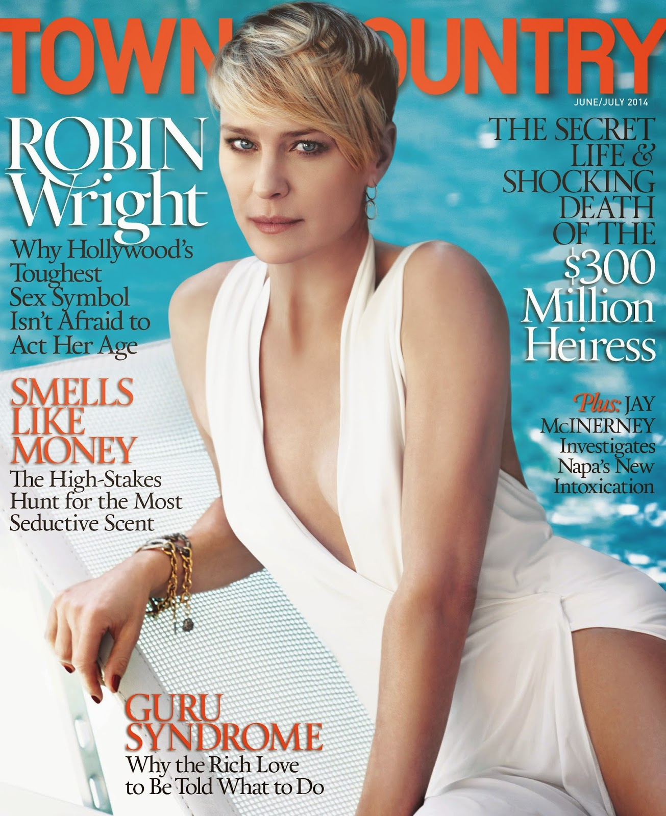 The Charmer Pages : Robin Wright For Town