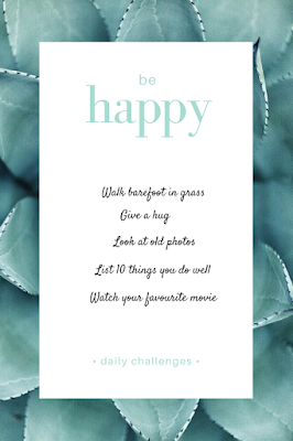 List of 'happiness' challenges