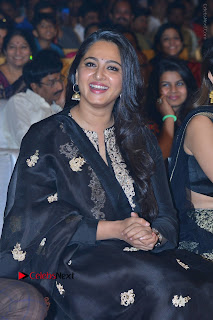 Actress Anushka Anushka Shetty Stills in Black Salwar Kameez at Om Namo Venkatesaya Audio Launch Event  0018.JPG