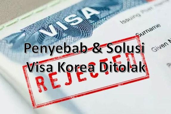 visa korea ditolak