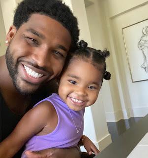 Tristan Thompson treats his daughter True Thompson like a 'Princess'
