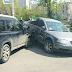 В Харькове Nissan и Volkswagen не поделили перекресток (Фото)