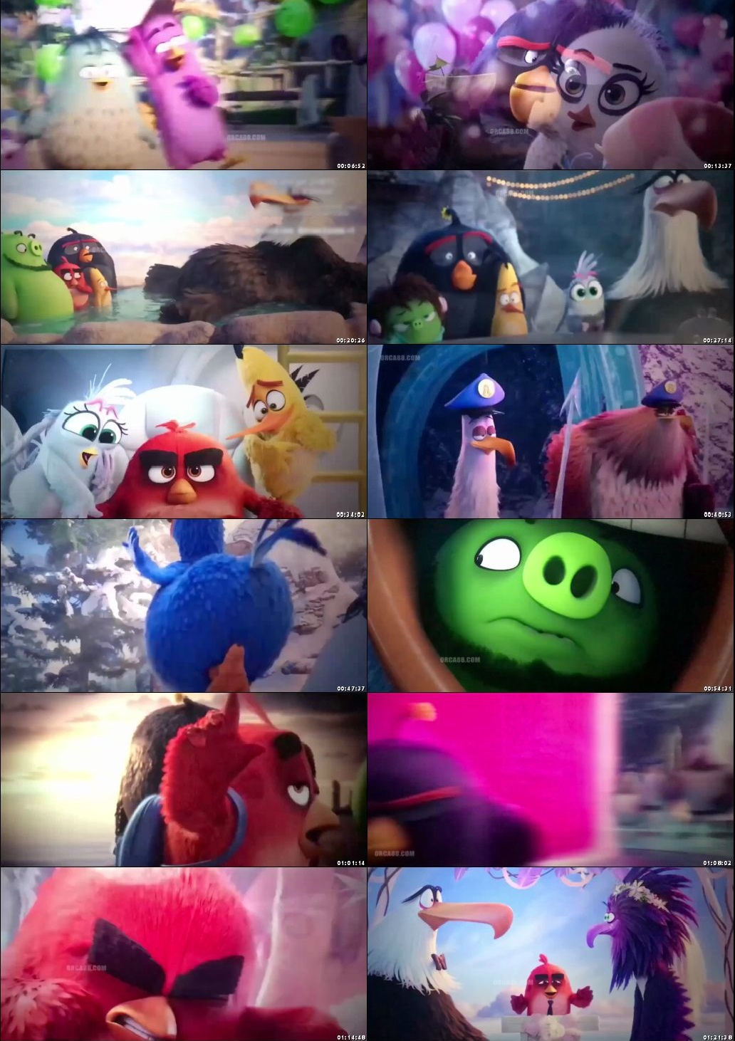 Screen Shot Of The Angry Birds Movie 2 2019 300MB Full Movie Hindi Dubbed Free Download 480P HDTSRip Small Size PC Movie