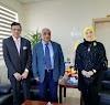 د. عبد الرّحيم الحنيطيّ يستضيف الشّعلان وحسن