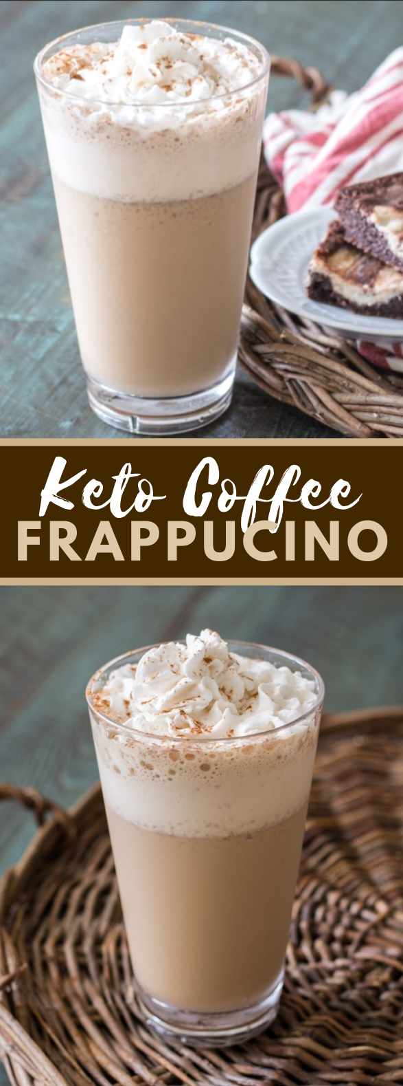 Keto Coffee Frappuccino (Starbucks Copycat) #drinks #lowcarb