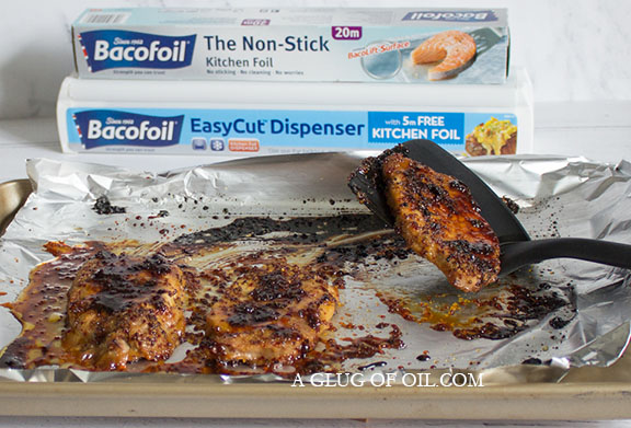 Honey and Grain Mustard Pork Steaks with BacoFoil