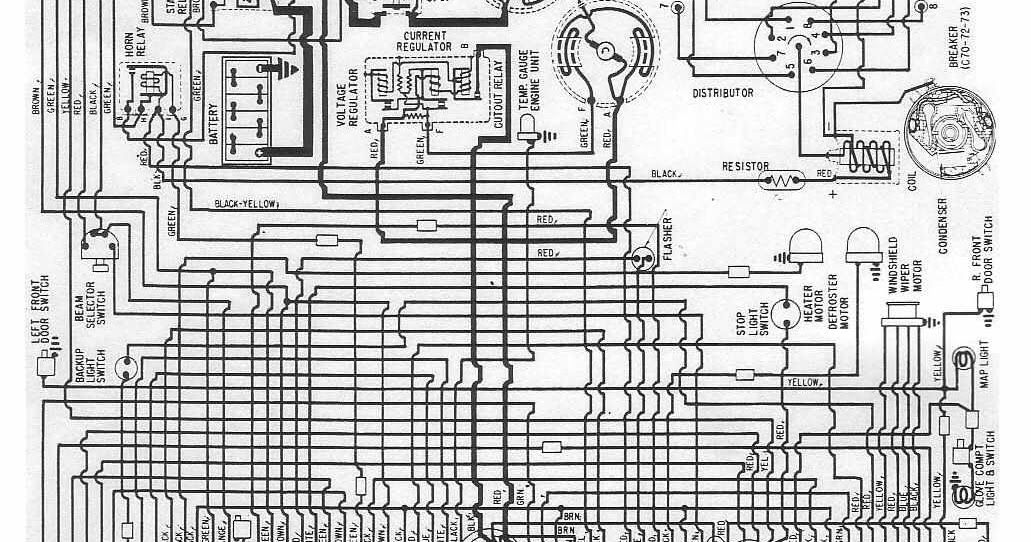 Electrical Wiring Diagrams Of Chrysler And Imperial