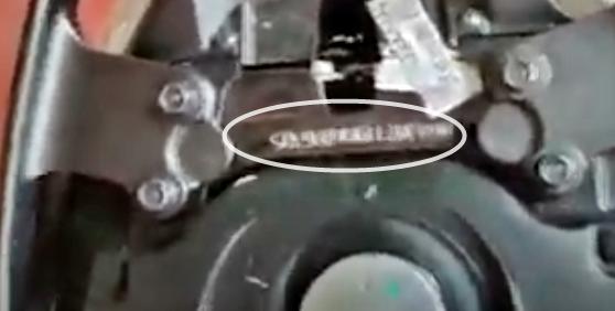 Letak Nomor Rangka dan Nomor Mesin Motor Honda Genio