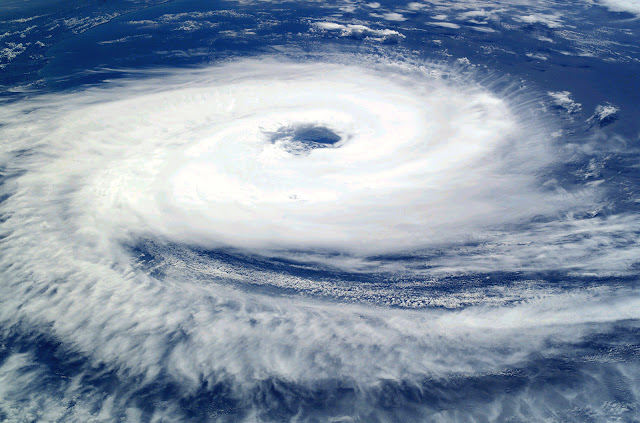 Well Structured Cyclone With An Eye.