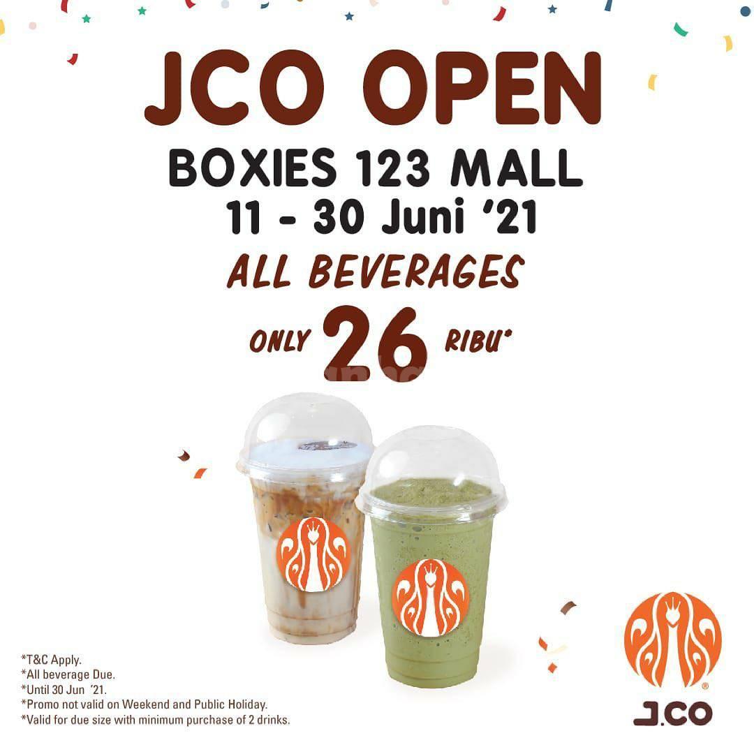 Promo JCO Boxies 123 Mall BOGOR Opening