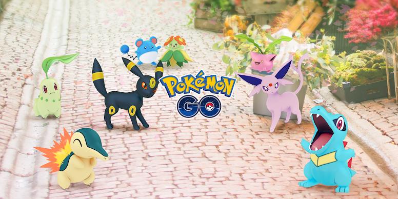 Pokémon GO Celebração Johto