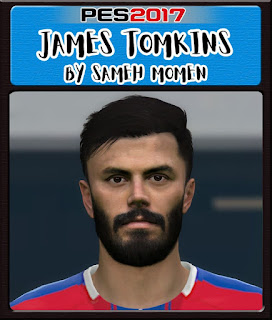 PES 2017 Faces James Tomkins by Sameh Momen