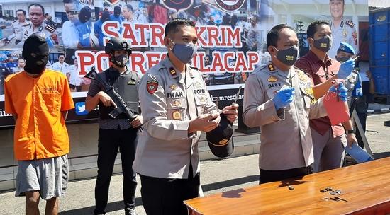 Polisi Berhasil Meringkus 19 Pejudi  di Cilacap