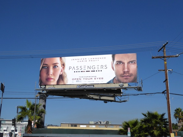 Passengers film billboard