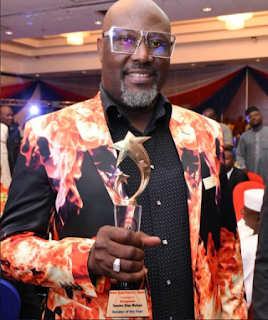 dino melaye paid for senator of the year award