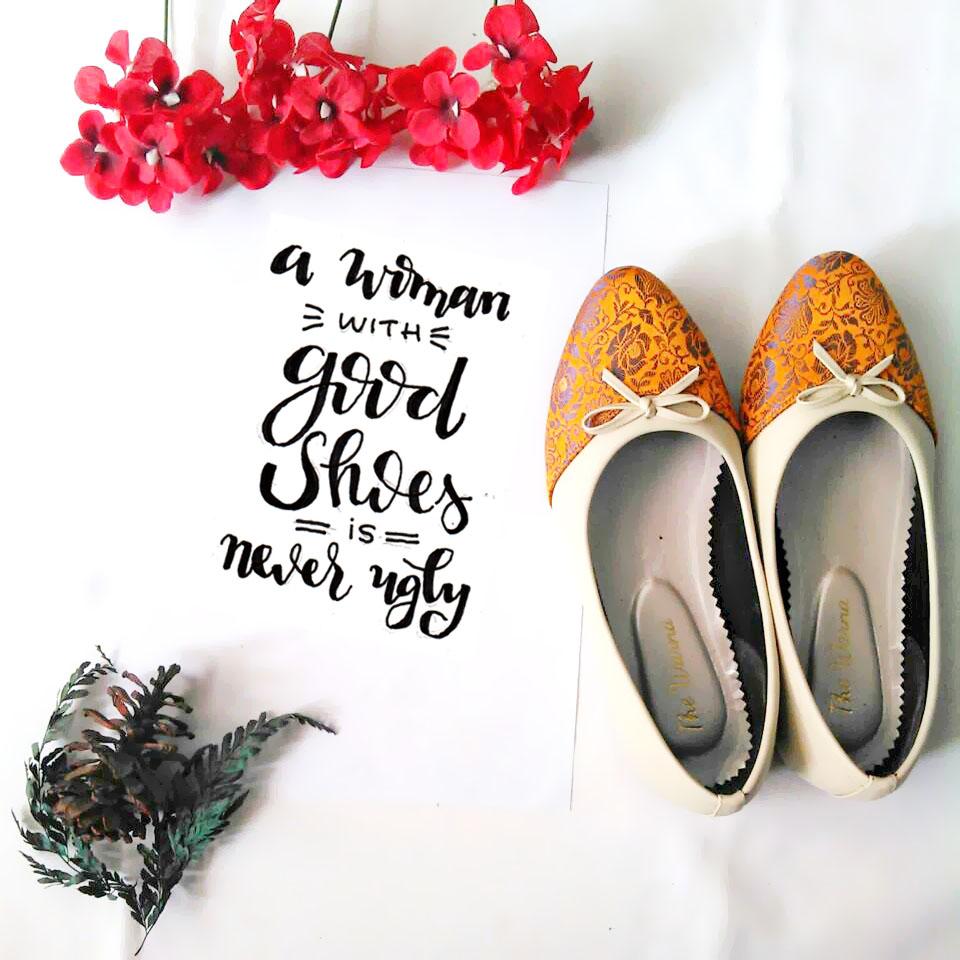 [Review Produk] Percaya Diri Bareng Sepatu The Warna