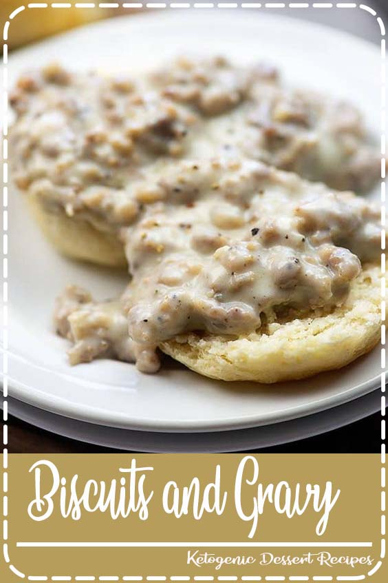 This sausage gravy tastes amazing but it Biscuits and Gravy