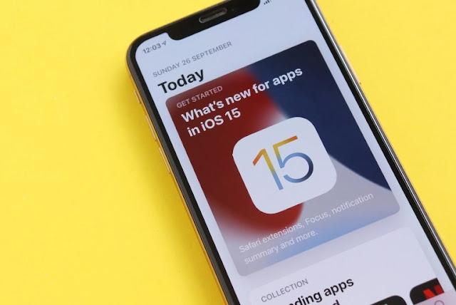 ماذا تعرف عن إصدار IOS 15 من آبل