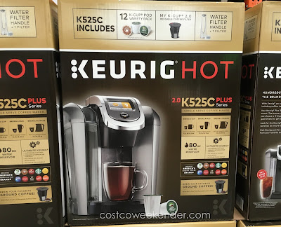 Keurig Hot - Brew your favorite ground coffee!