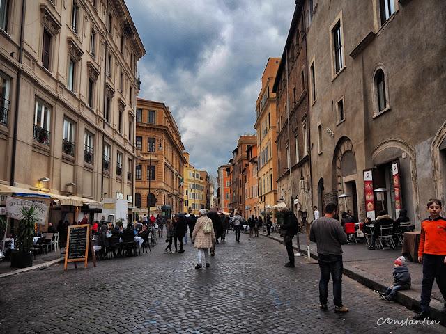 Roma - Jewish Ghetto -Strada comercialã