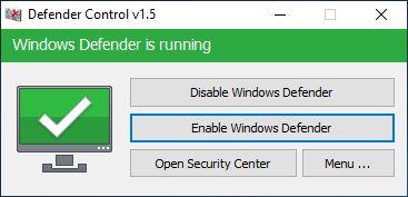 Hướng dẫn sử dụng phần mềm tắt Defender Win 10 chỉ trong 1 cú click nhé