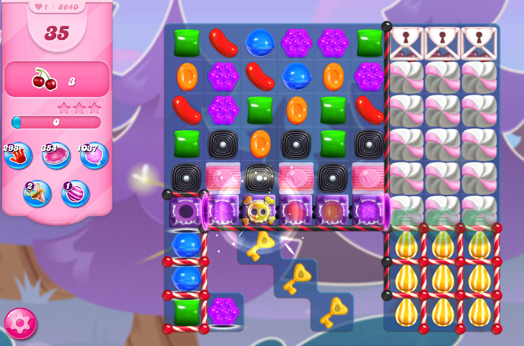 Candy Crush Saga level 8640