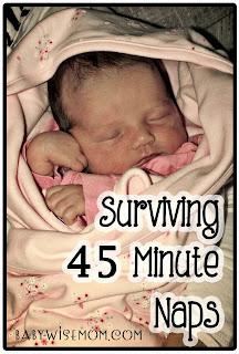 Surviving 45 Minute Naps