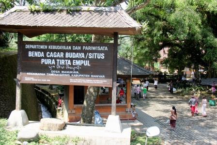Pura Tirta Empul di Gianyar, Bali