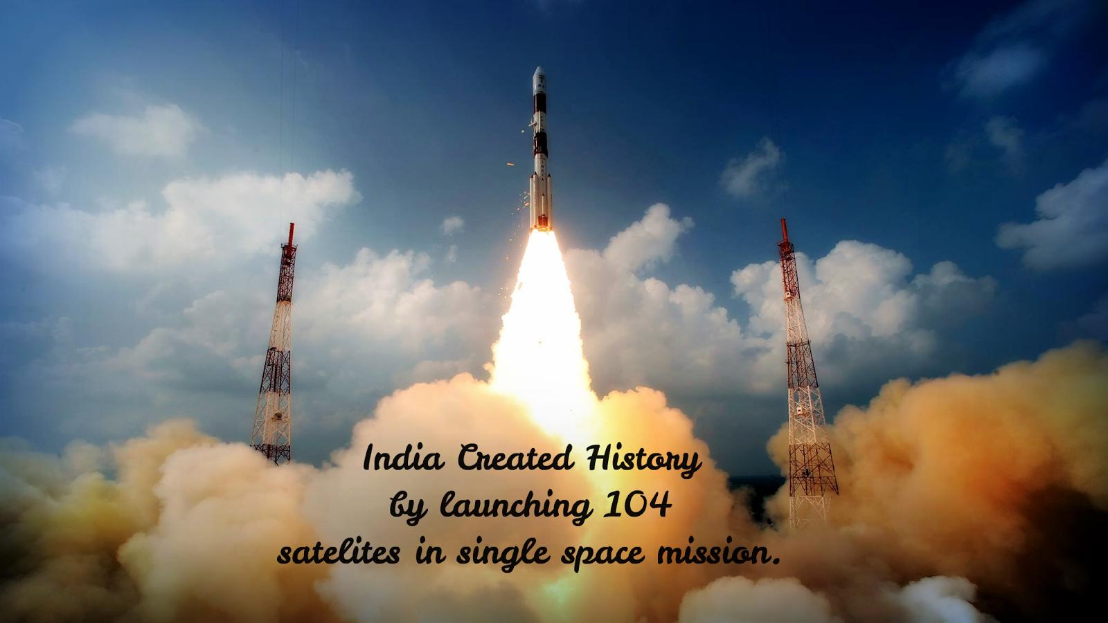 DevRN: India Created History: sent 104 satellites in single