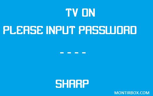 Password TV Sharp