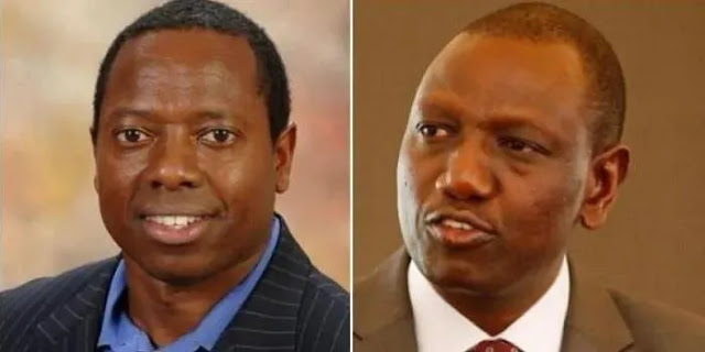 David Ruto, the younger brother of Deputy President William Ruto photo