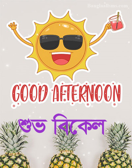Good Afternoon Image with Sun